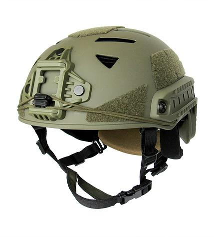 Tactical carbon helmet ТREK